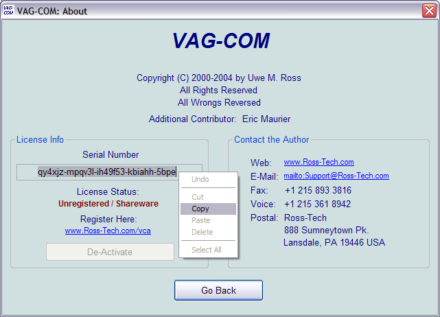 vag-com version 409.1
