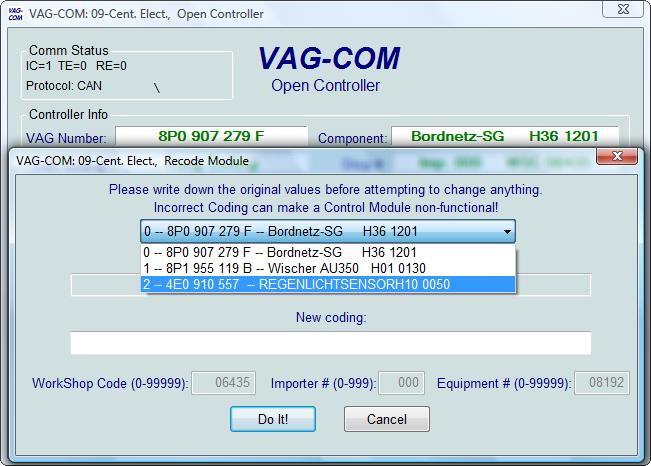 Ross-Tech: VAG-COM Tour: Recode