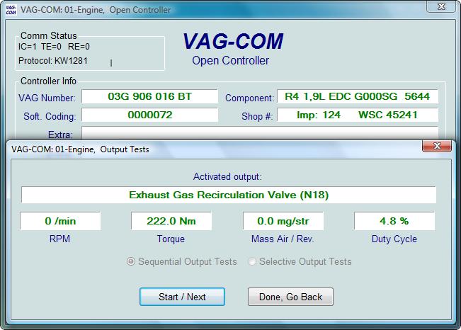 Ross-Tech: VAG-COM Tour: Output Tests