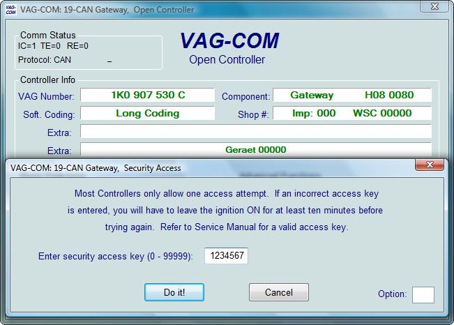 Ross-Tech: VAG-COM Tour: Security Access