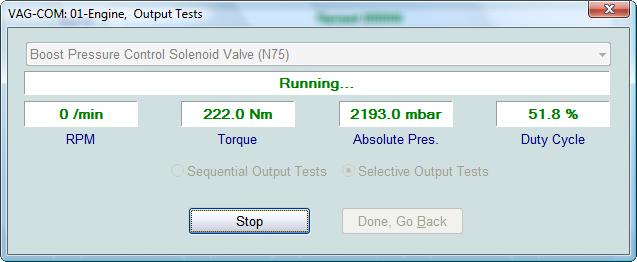 Ross Tech Vag Com Tour Output Tests