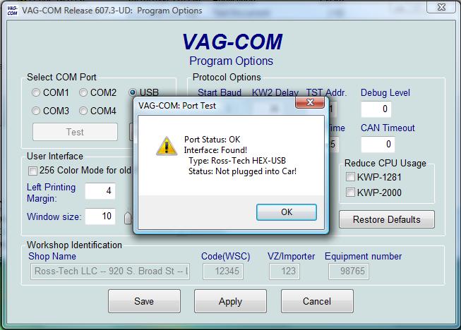 Vcds) автосканер vag-com hex-can-usb v 1111 - бортжурнал skoda octavia а5 серебрянный 2008 года на drive2