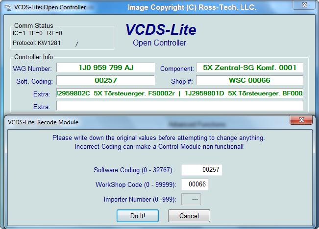 VCDS GRATUIT TÉLÉCHARGER 15.7.1