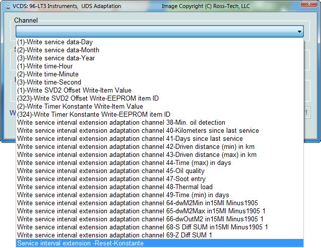 Ross-Tech: VCDS Tour: Crafter / LT3 Functions