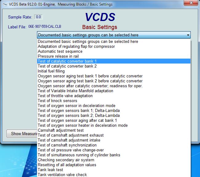 Ross-Tech: VAG-COM: Current Beta