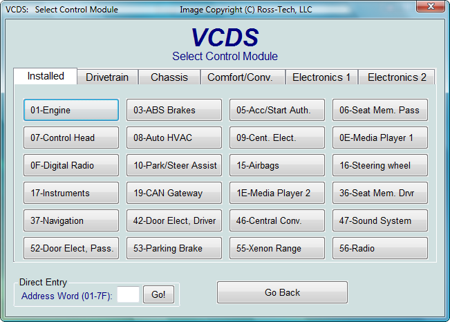 Restoring a 2002 VW Passat 1 8T - LONG LIST OF FAULT CODES!!!