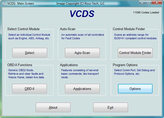Windows용 VAG-COM Software