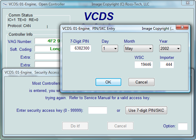 Vw Passat Vcds Codes