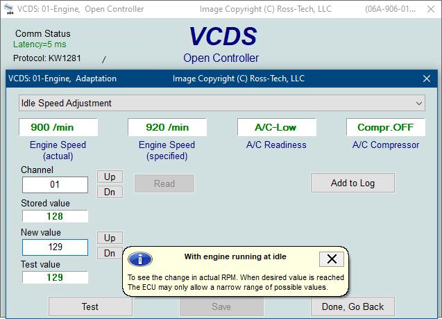Ross-Tech: VCDS Tour: Adaptation