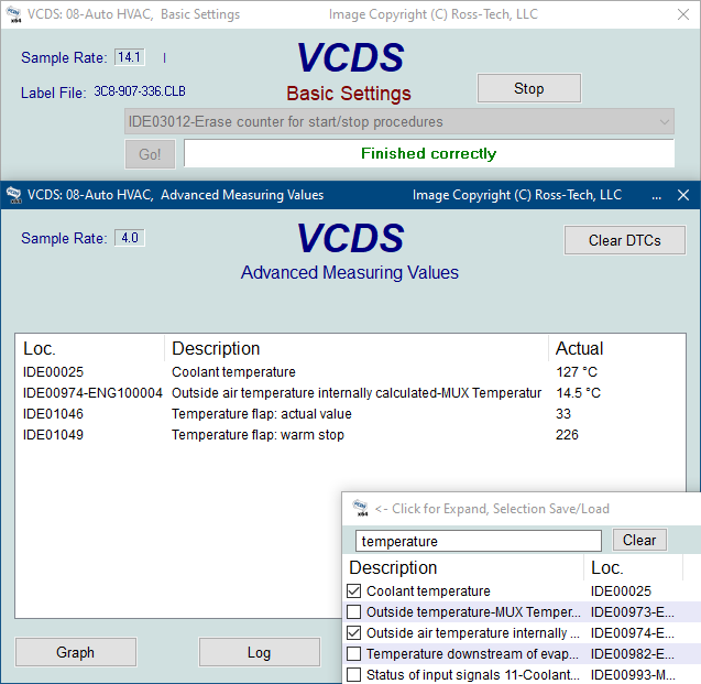 Ross-Tech: VCDS Tour: Basic Settings