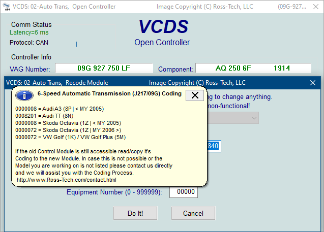 Ross-Tech: VCDS Tour: Recode