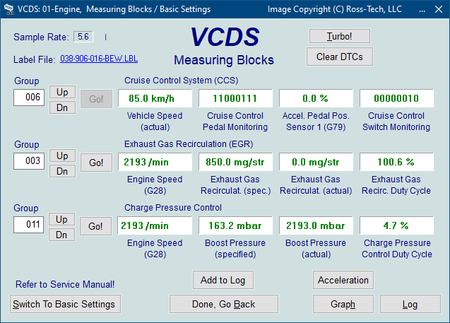 Ross Tech Vcds Tour Measuring Blocks