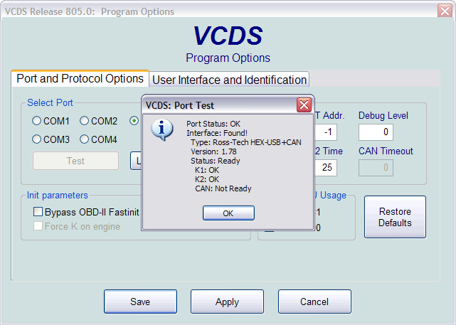 vcds 805